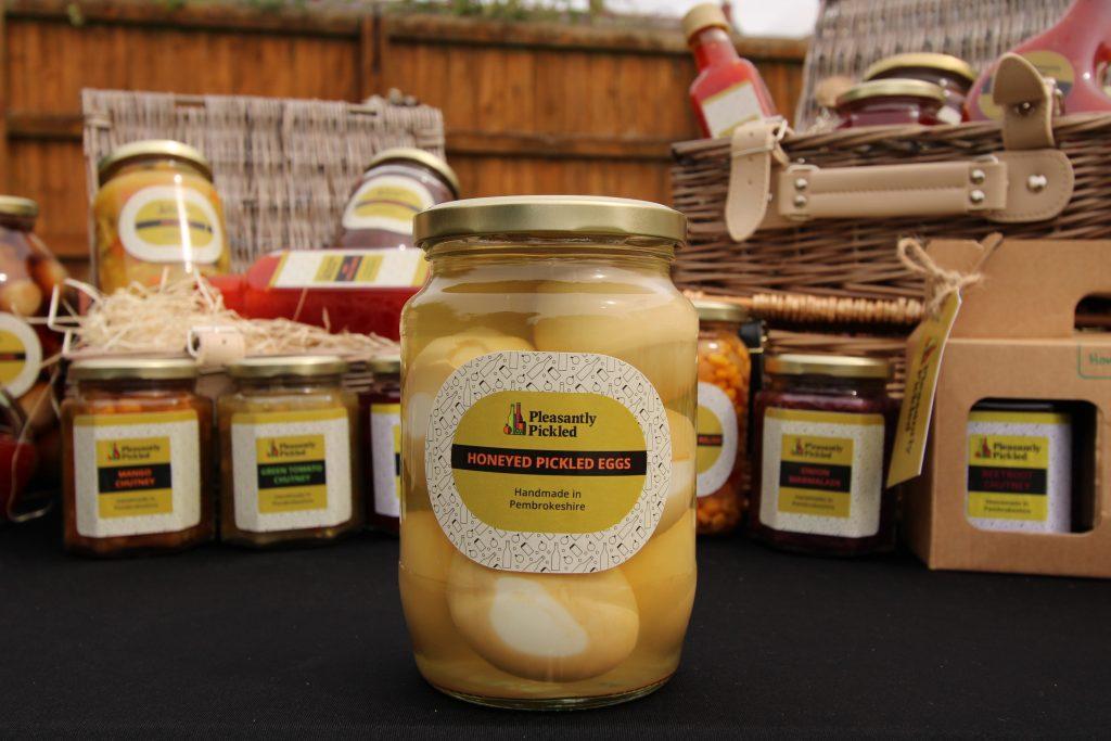 Honeyed Pickled Eggs